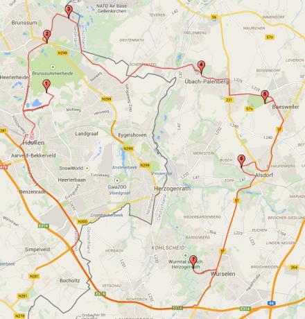 Klik afbeelding om route te openen